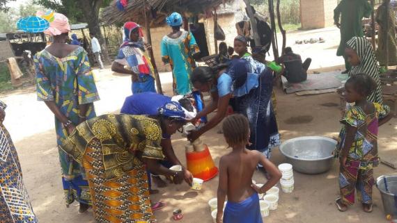 O Natal em Burkina Faso - África