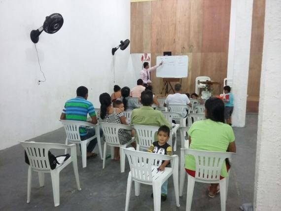 Há comunidades de difícil acesso que não tem ainda presença missionária