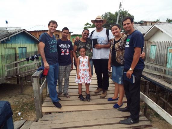 Ministério Ipiranga chega a Tefé - AM